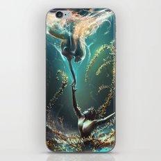 Underwater ballet iPhone & iPod Skin