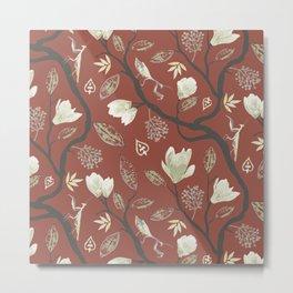 Magnolia Mantis Metal Print