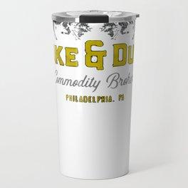 Duke & Duke Commodity Brokers T-Shirt Travel Mug