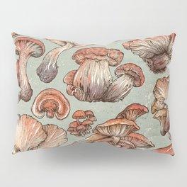 A Series of Mushrooms Pillow Sham
