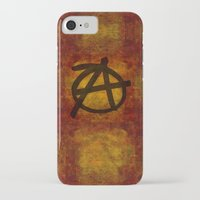 sons of anarchy iPhone & iPod Cases featuring Anarchy by BruceStanfieldArtist.DarkSide