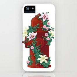 Flower Hydrant iPhone Case