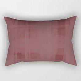 Burgandy & Lace Rectangular Pillow