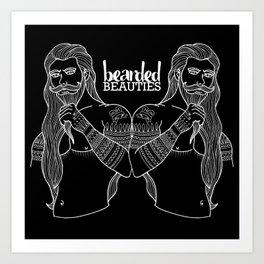 Beard Puller Art Print