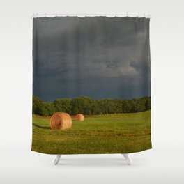Ring Light Shower Curtain