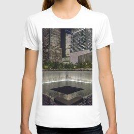 Footprint Fountain - NYC T-shirt
