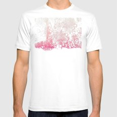 Old Lace MEDIUM White Mens Fitted Tee