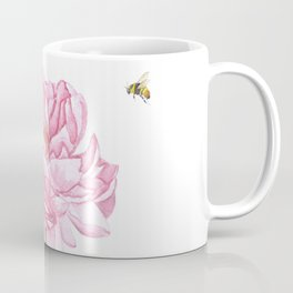 Big Beautiful Peony Coffee Mug