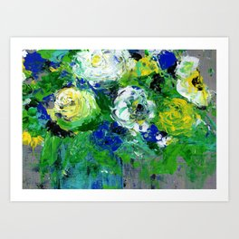 Abstract Floral - Botanical Art Print