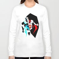 anonymous Long Sleeve T-shirts featuring anonymous by Flo Zero