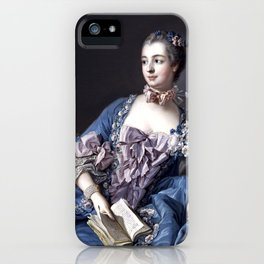 Madame De Pompadour iPhone Case