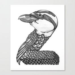Z - Animal Alphabet Canvas Print