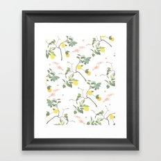 Lovely Lemons Framed Art Print