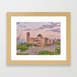 Basílica de Aparecida Framed Art Print