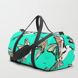 Dancing Rainbow Bee Eater Birds Duffle Bag