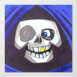 Mood Monster-grim reaper Canvas Print