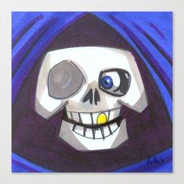 Mood Monster-grim reaper Canvas Print