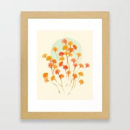The bloom lasts forever Framed Art Print