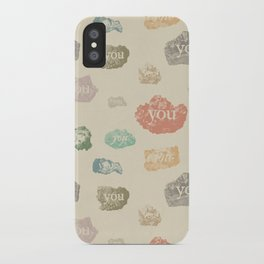 You Rock (Pattern) iPhone Case