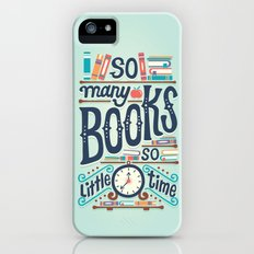 So many books so little time Slim Case iPhone SE