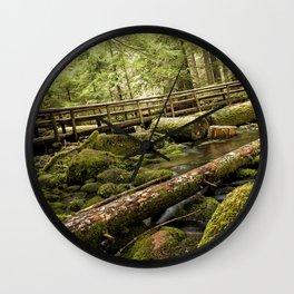 McKenzie River Trail No 1 Wall Clock
