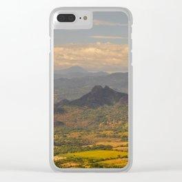 El Salvador Clear iPhone Case