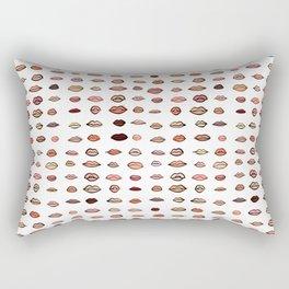 Nude lips Rectangular Pillow