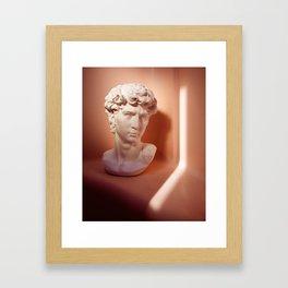 King Dave Framed Art Print