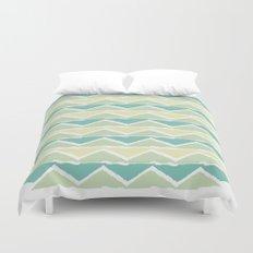 ocean triangles Duvet Cover