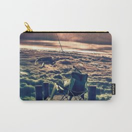 Fishing Above the Clouds Carry-All Pouch
