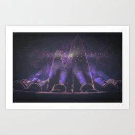 starry night projector Art Print
