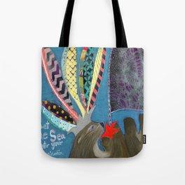 Let the Sea Stir Your Imagination Tote Bag