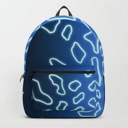 Blue Bug Organic Shapes Backpack