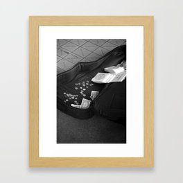 Chump Change Framed Art Print