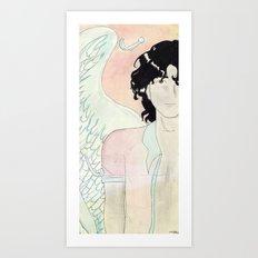VILLAIN Art Print