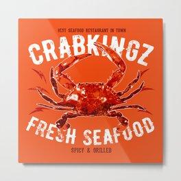 CrabKingz Metal Print
