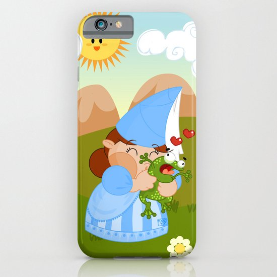 kissing the enchanted frog iPhone & iPod Case