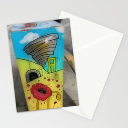 Outside on the Corner Stationery Cards