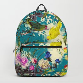 Tropical birds in the nature - 010 Backpack
