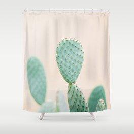 "Cactus photo print ""Botanical cactus"" Morocco   Modern Wall art   Pastel / Botanical Shower Curtain"