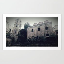 the San Cataldo chruch Art Print