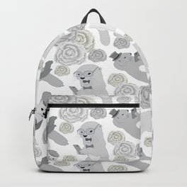 Hipster otters Backpack
