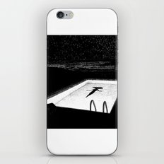 asc 593 - Le silence des cigales (The midnight lights) iPhone Skin