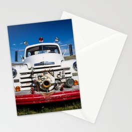 Old Fire Engine Stationery Cards