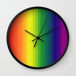Spectral Sensation Wall Clock