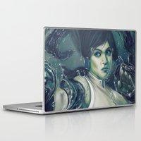 korra Laptop & iPad Skins featuring Korra by MATT DEMINO