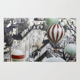 Balloon travel Rug
