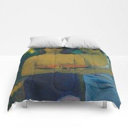 Paul Gauguin - Two Tahitian Women (1899) Comforters