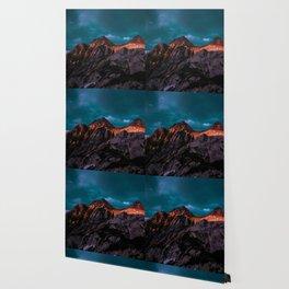The Volcano Mountain (Color) Wallpaper