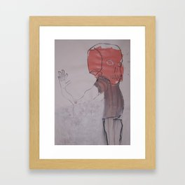 OUTLYING Framed Art Print